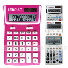 12 Digits Dual Power Desktop Calculator with Optional Tax Function (LC227T-1)