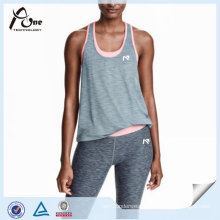 Polyester Active Wear Wholesale Running Singlet for Women