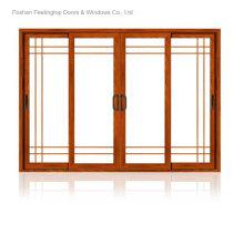 Porte-patio en aluminium de style moderne (FT-D80)
