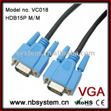 d-sub 15 pin molded cable M/M