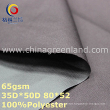 Plain Polyester Pongee Dyeing Fabric for Jacket Clothes (GLLML328)