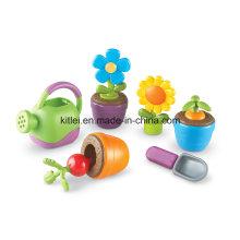 De nouveaux germes le font pousser! Jeux éducatifs pour enfants