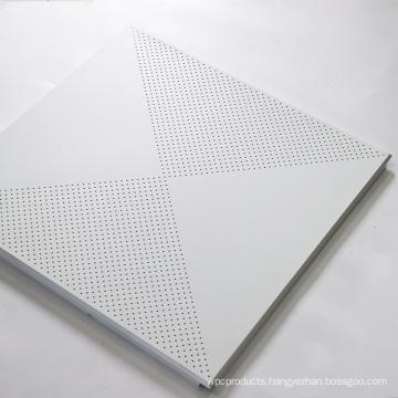 600*600 Modern fireproof aluminum performed drop ceiling