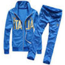 Men′s Custom Hot Selling Blue Color Sports Suits
