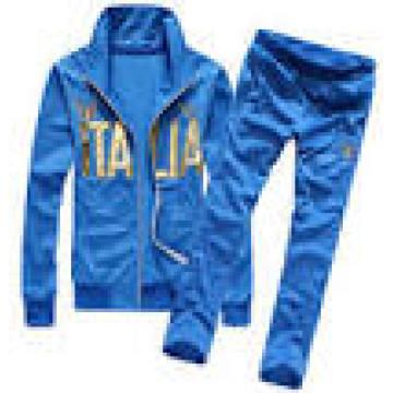 Männer kundenspezifische heiße verkaufende blaue Farben-Sport-Klagen