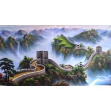 Arte decorativa da lona da paisagem da pintura a óleo (ETL-029)