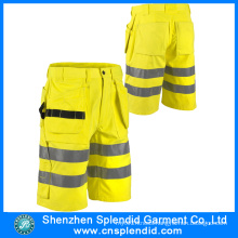 Winter Discount Mens Hi Vis Safety Workwear Shorts