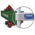 Traqueur de traqueur de traqueur de conteneur de GPS avec la fonction d'alarme ouverte / fermée de porte
