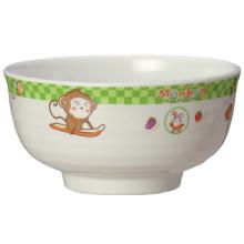 Bacia de arroz das crianças das utensílios de mesa das crianças da melamina (BG2089)