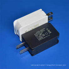 Chargeur mural de l'adaptateur secteur USB de l'adaptateur secteur 5V 2A de Jp pour le marché japonais