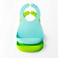 Bavoirs bandana en silicone bavoir bébé facilement nettoyer
