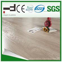 8mm 12mm Crystal Finish Light Walnut HDF Environment Friendly Easy Lock System Laminate Flooring