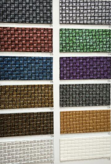 Bronzing PU Leather