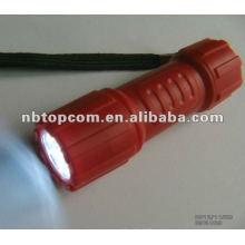 9 led 3 * lanterna de plástico AAA