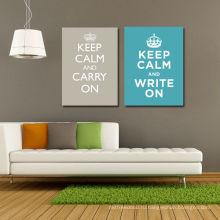 Украшение Группа Поощрение Word Art Печать Wall Decor Холст Wall Art