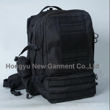 Black Multifunctional Military Bag 3 Days Tactical Backpack (HY-B067)