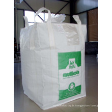 Sacs en vrac PP / PE / Sacs FIBC pour matériaux de construction