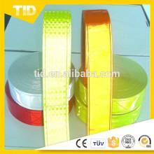 Rubans réfléchissants de PVC prismatique micro pour le gilet de sécurité