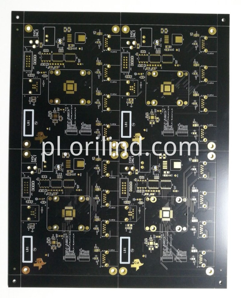 Multilayer ENIG circuit board