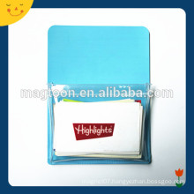 Customized PVC magnetic business card holder