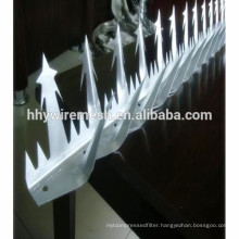 galvanized razor spikes ,anti-climb spike wall,stainless steel spike