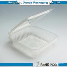 Venta al por mayor Customed Clear plásticas Sushi para llevar contenedor
