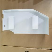 Fabricación de chapa metálica de 1,5 mm SPCC con revestimiento de pulverización