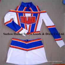 Cheerleading Uniformes con tejido de Spandex