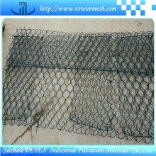 Malla de malla de alambre galvanizada Gabion