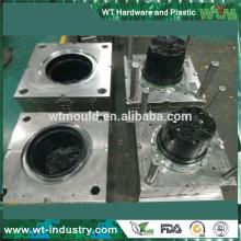 Fournisseur de Shenzhen moule Black ABS plastic plowerpot moule fabricant