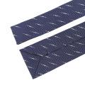 Gravata de seda tecida magro da extremidade do quadrado da gravata do pescoço