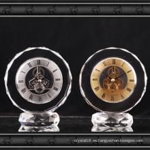2016 nuevo diseño reloj de cristal de cristal regalo