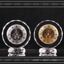 2016 Новый Дизайн Кристалл Стеклянные Часы Подарок