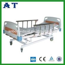 Roulettes de lit d'hôpital à 5 fonctions