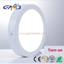 Led Panel light round surface mounted 6w
