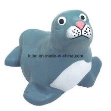 Mini plástico macio ICTI animal figura bebê crianças brinquedos educativos