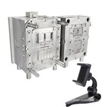 shenzhen precision molding maker custom car phone holder mould auto patr mobile holder plastic injection mold