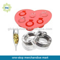 Silicone Ring Ice Cube Tray