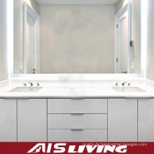Weiße PVC Badezimmer Vanity Schränke mit Schublade (AIS-B001)