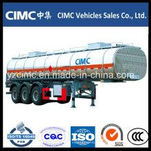 45000L 3 Eje Aceite Tanque de Combustible Tráiler