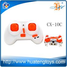 Дробилка с радиоуправлением Cheerson CX-10C mini rc quadcopter 2.4G 4ch 6-го поколения с камерой для продажи