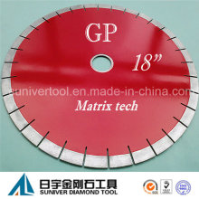 "Gp 18""*20mm Amazing Diamond Granite Cutting Saw Blade"