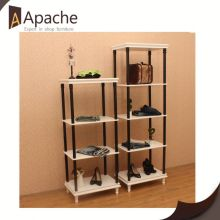 Fine appearance factory directly mdf clothes display stand for shop
