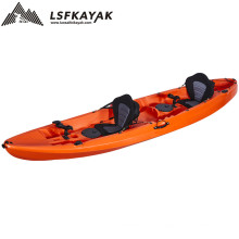 3 Person SeatFamily 12FT Fishing Sit On Top LLDPE Plastic Kayak