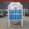 Rotary sieve cylindrical seed cleaner