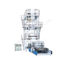 Deux couches de coextrusion Rotary-Die Head Ensemble de machine de soufflage de bobinage entièrement automatique (Sj-50X2 / FM1100)