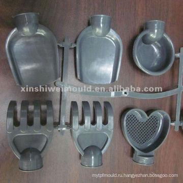 PP пластичные промышленные части, пластичная прессформа впрыски делая