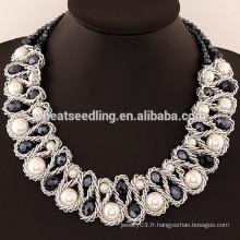 Nouveauté Choker Collier en cristal noir Accessoires Bijoux à la mode