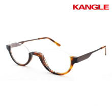 half eye acetate reading glasses halfeye readers slim eyewear eyeglasses frames acetate