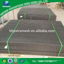 Cascalho de pedra ou carvão ou escória triturador tela de malha de arame